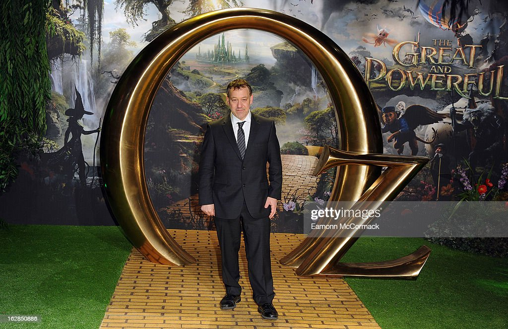 Sam Raimi attends the European Premiere of 'Oz: The Great and Powerful' at Empire Leicester Square on February 28, 2013 in London, England.
