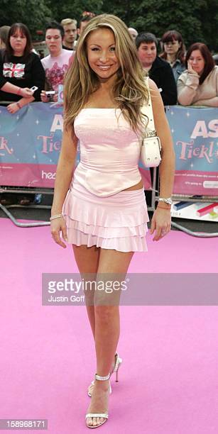 Sam Ramplin Attends The Asda Tickled Pink Charity Concert At London'S Royal Albert Hall