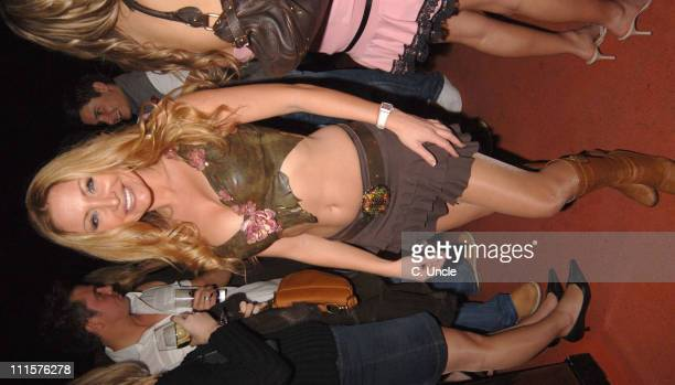 Sam Ramplin during Supermodel Annual Party November 24 2005 at The Penthouse No1 Leicester Square in London Great Britain