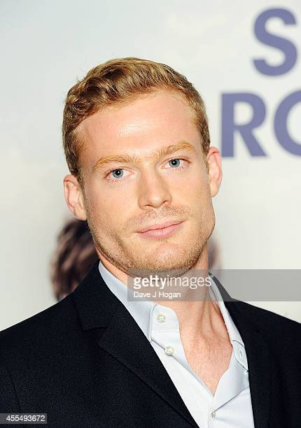 Sam Reid attends a photocall for the film 'The Riot Club' at The BFI Southbank London on September 15 2014 in London England