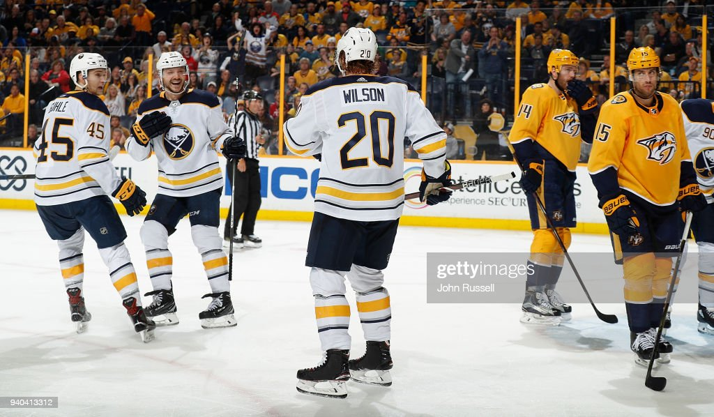 Buffalo Sabres v Nashville Predators : News Photo