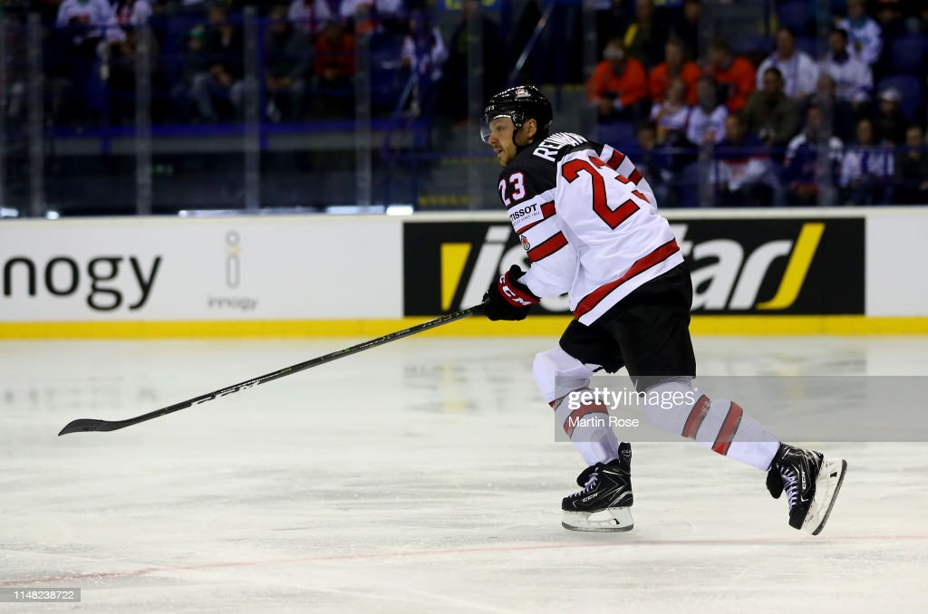 Finland v Canada: Group A - 2019 IIHF Ice Hockey World Championship Slovakia : News Photo