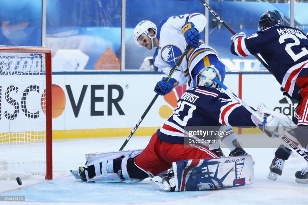 2018 Bridgestone NHL Winter Classic - New York Rangers v Buffalo Sabres : News Photo