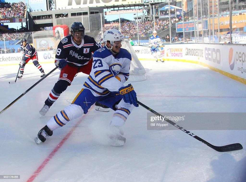 2018 Bridgestone NHL Winter Classic - New York Rangers v Buffalo Sabres : News Photo