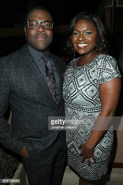 Sam Richardson and Deborah Joy Winans attends the Vulture Awards Season Party at Sunset Tower Hotel on December 8 2016 in West Hollywood California