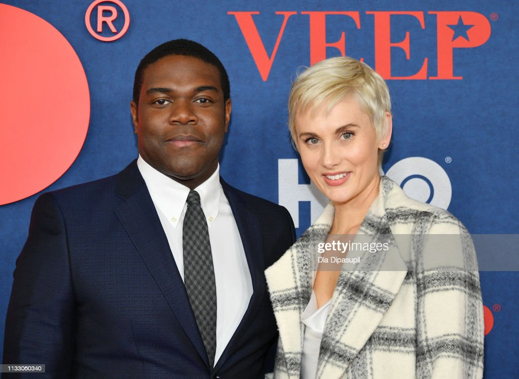 Sam Richardson and Nicole Boyd attend the