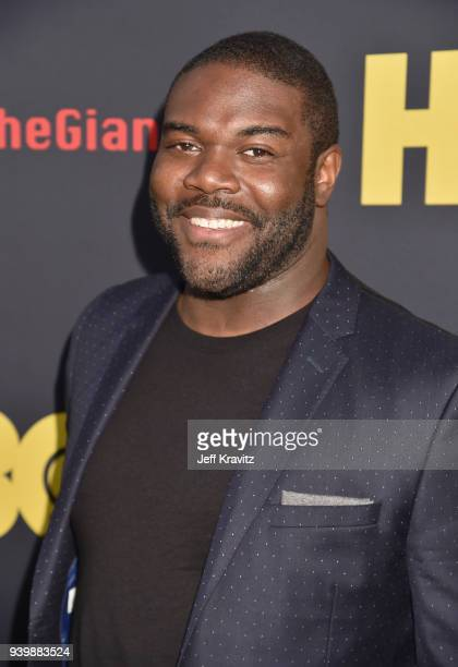 Sam Richardson attends the Los Angeles Premiere of Andre The Giant from HBO Documentaries on March 29 2018 in Los Angeles California