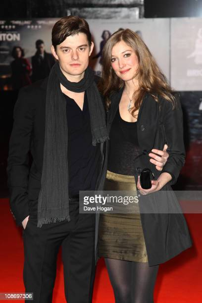 Sam Riley and Alexandra Maria Lara attend the European premiere of Brighton Rock held at the Odeon West End on February 1 2011 in London England