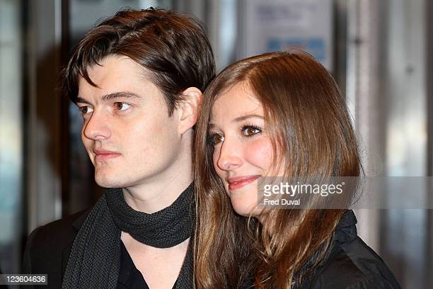 Sam Riley and Alexandra Maria Lara attend the European premiere of Brighton Rock at Odeon West End on February 1 2011 in London England