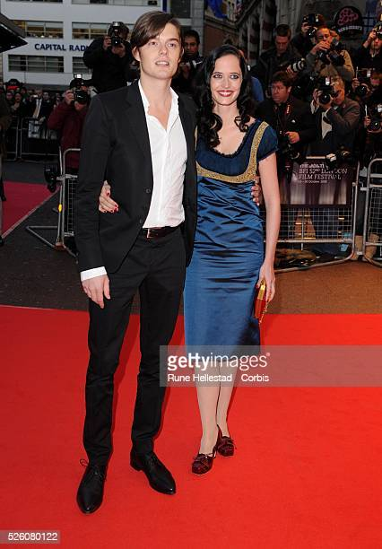 Sam Riley and Eva Green attend the premiere of 'Franklyn' at The Times BFI London Film Festival at Odeon West End Leicester Square