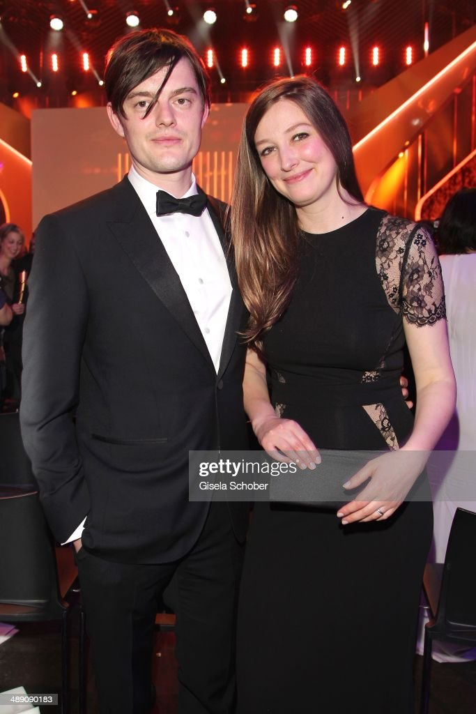Sam Riley and his wife Alexandra Maria Lara attend the Lola - German Film Award 2014 - After party at Tempodrom on May 9, 2014 in Berlin, Germany