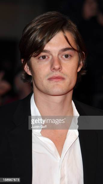 Sam Riley Arrives At 'Franklyn' Premiere At Odeon West End London