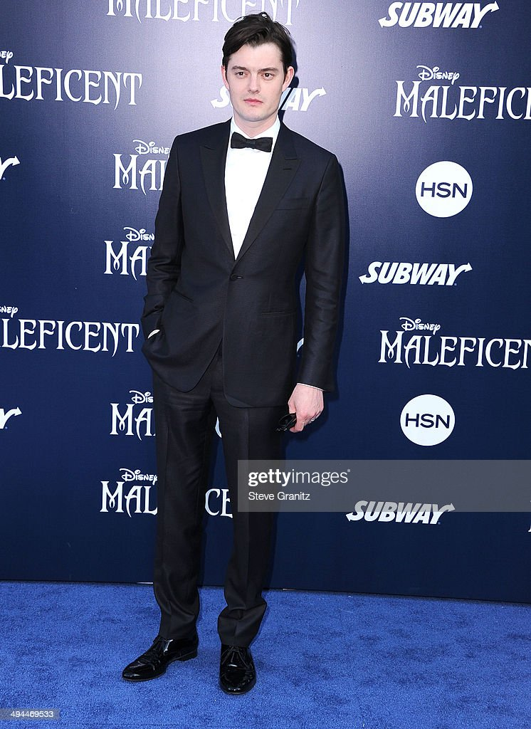 Sam Riley arrives at the World Premiere Of Disney's