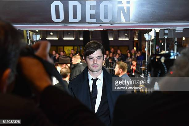 Sam Riley attends the 'Free Fire' Closing Night Gala screening during the 60th BFI London Film Festival at Odeon Leicester Square on October 16 2016...