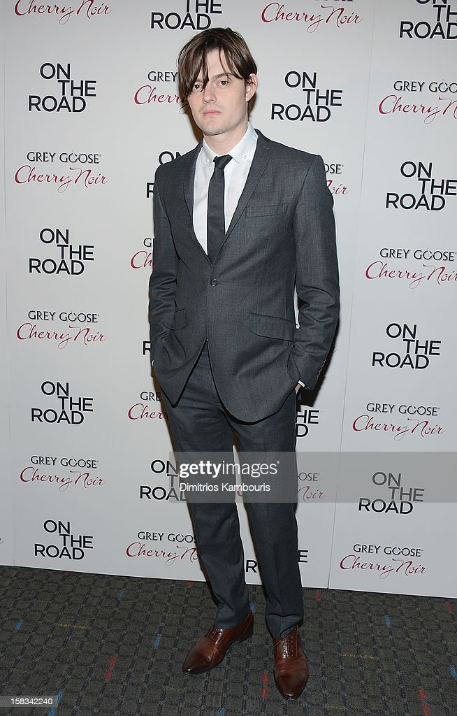Sam Riley attends the 'On The Road' New York Premiere at SVA Theater on December 13, 2012 in New York City.