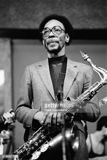 Sam Rivers, tenor saxophone performs on February 4th 1983 at the BIM huis in Amsterdam, Netherlands. ,