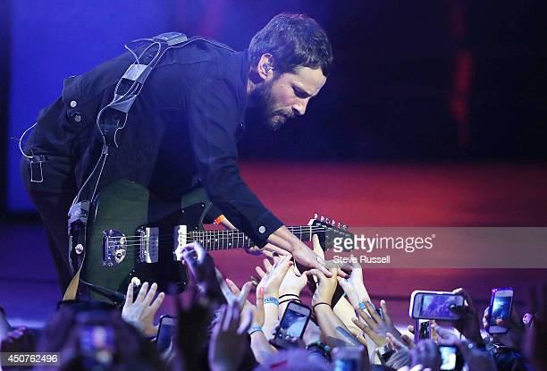 Sam Roberts at the Much Music Video Awards at MuchMusic on Queen Street West in Toronto June 15 2014