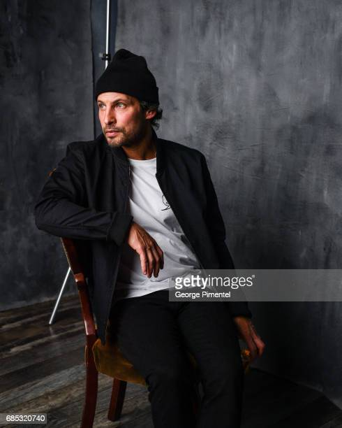 Sam Roberts poses at the 2017 Juno Awards Portrait Studio at the Canadian Tire Centre on April 1 2017 in Ottawa Canada
