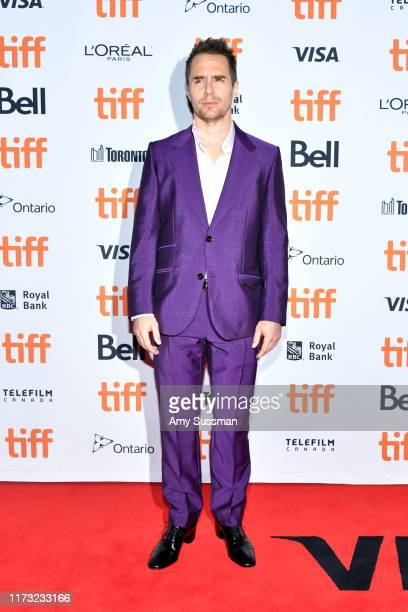 Sam Rockwel attends the Jojo Rabbit premiere during the 2019 Toronto International Film Festival at Princess of Wales Theatre on September 08 2019 in...