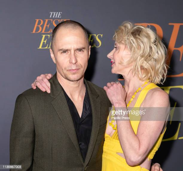 Sam Rockwell and Anne Heche attend 'The Best Of Enemies' New York Premiere at AMC Loews Lincoln Square Manhattan