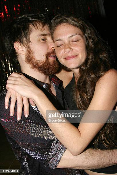 Sam Rockwell and Lauri Faggioni during Opening Night Party for LAByrinth Theater Company's 'The Last Days of Judas Iscariot' at Marion's Continental...