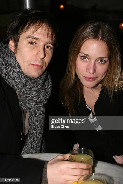 Sam Rockwell and Piper Perabo during 'King Lear' Opening Night After Party at The Public Theater in New York NY United States