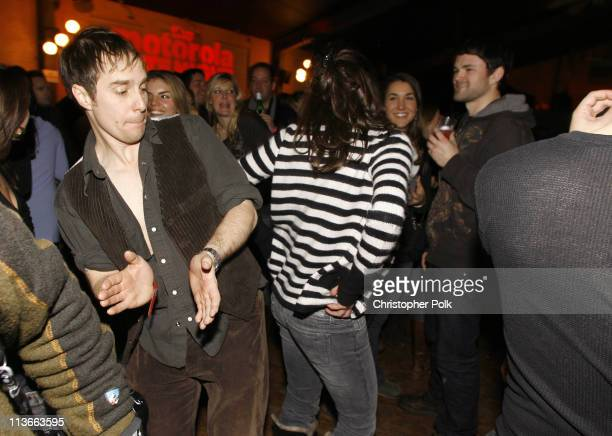 Sam Rockwell and Shira Lazar during 2007 Park City Motorola Late Night Lounge at The Shop/Yoga Studio in Park City Utah United States