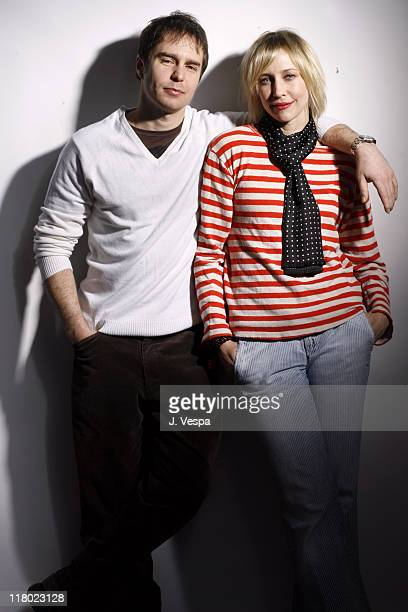 Sam Rockwell and Vera Farmiga during 2007 Sundance Film Festival 'Joshua' Portraits at Delta Sky Lodge in Park City Utah United States