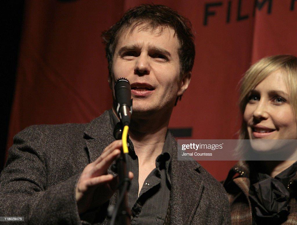 Sam Rockwell And Vera Farmiga During 2007 Sundance Film