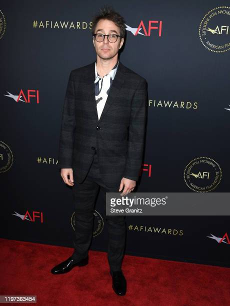 Sam Rockwell arrives at the 20th Annual AFI Awards at Four Seasons Hotel Los Angeles at Beverly Hills on January 03 2020 in Los Angeles California