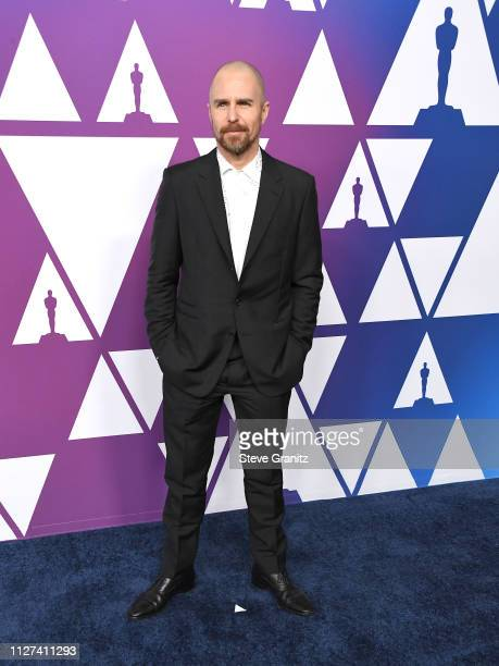 Sam Rockwell arrives at the 91st Oscars Nominees Luncheon at The Beverly Hilton Hotel on February 04 2019 in Beverly Hills California