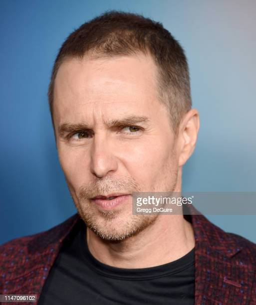 Sam Rockwell arrives at the FYC Event For FX's Fosse/Verdon at Samuel Goldwyn Theater on May 30 2019 in Beverly Hills California
