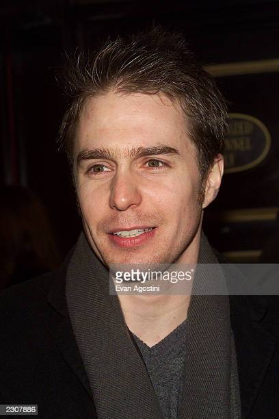 Sam Rockwell at the 'Bridget Jones's Diary' film premiere at the the Ziegfeld Theater in New York City Photo Evan Agostini/Getty Images
