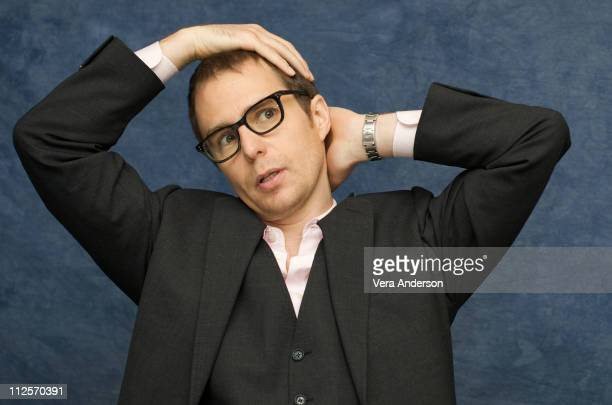 Sam Rockwell at the 'Everybody's Fine' press conference at the Waldorf Astoria Hotel on November 15 2009 in New York City