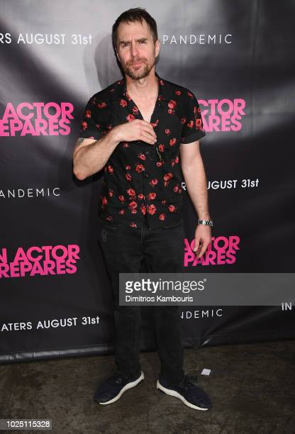 Sam Rockwell attends An Actor Prepares New York Screeningat Metrograph on August 29 2018 in New York City