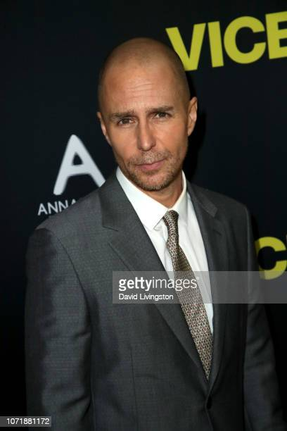 Sam Rockwell attends Annapurna Pictures Gary Sanchez Productions and Plan B Entertainment's World Premiere of Vice at AMPAS Samuel Goldwyn Theater on...