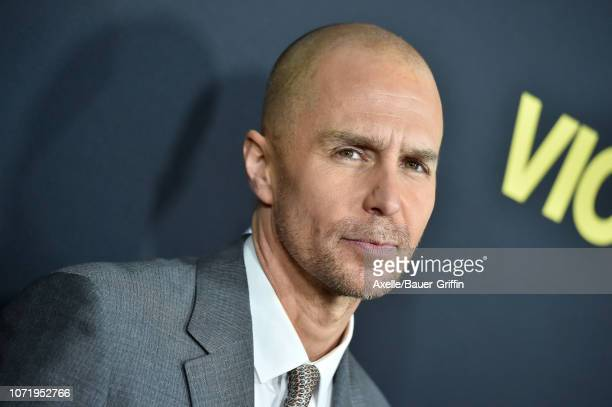 Sam Rockwell attends Annapurna Pictures Gary Sanchez Productions and Plan B Entertainment's World Premiere of 'Vice' at AMPAS Samuel Goldwyn Theater...