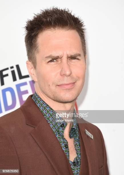 Sam Rockwell attends the 2018 Film Independent Spirit Awards on March 3 2018 in Santa Monica California