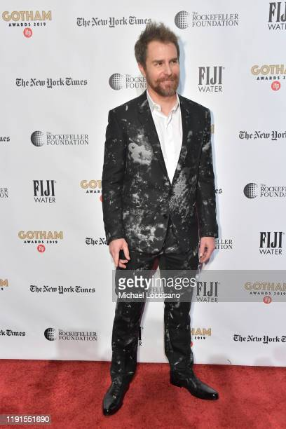 Sam Rockwell attends the 2019 IFP Gotham Awards at Cipriani Wall Street on December 02, 2019 in New York City.