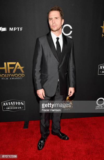 Sam Rockwell attends the 21st Annual Hollywood Film Awards at The Beverly Hilton Hotel on November 5 2017 in Beverly Hills California