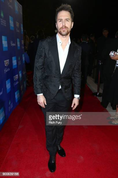 Sam Rockwell attends the 29th Annual Palm Springs International Film Festival Awards Gala at Palm Springs Convention Center on January 2 2018 in Palm...