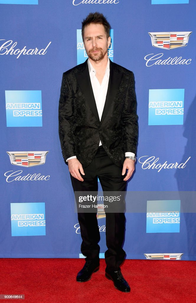 Sam Rockwell attends the 29th Annual Palm Springs International Film Festival Awards Gala at Palm Springs Convention Center on January 2, 2018 in Palm Springs, California.