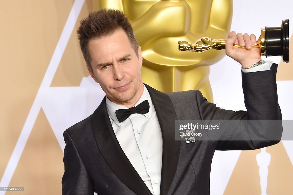 Sam Rockwell attends the 90th Annual Academy Awards - Press Room on March 4, 2018 in Hollywood, California.