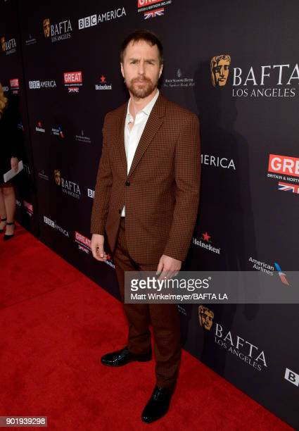 Sam Rockwell attends The BAFTA Los Angeles Tea Party at Four Seasons Hotel Los Angeles at Beverly Hills on January 6 2018 in Los Angeles California
