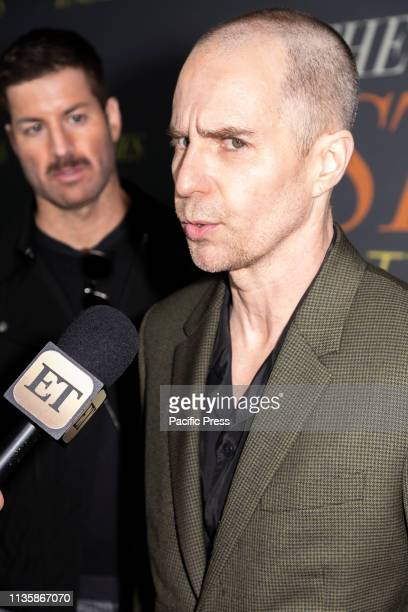 Sam Rockwell attends 'The Best Of Enemies' New York Premiere at AMC Loews Lincoln Square Manhattan