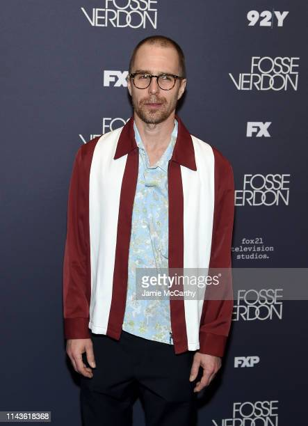 Sam Rockwell attends the 'Fosse/Verdon' Screening And Conversation at 92nd Street Y on April 18 2019 in New York City