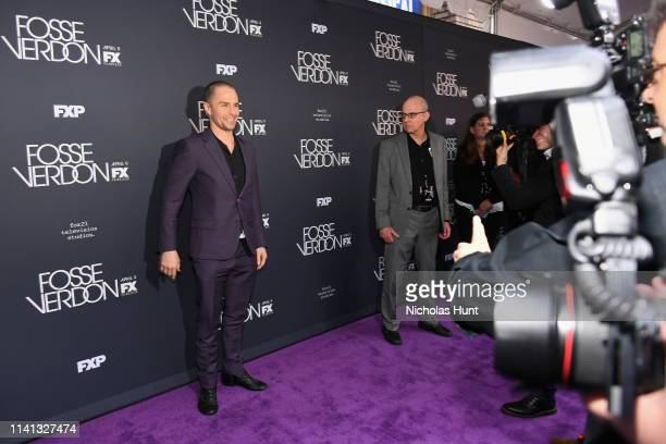"""Sam Rockwell attends the New York Premiere for FX's """"Fosse/Verdon"""" on April 08, 2019 in New York City."""