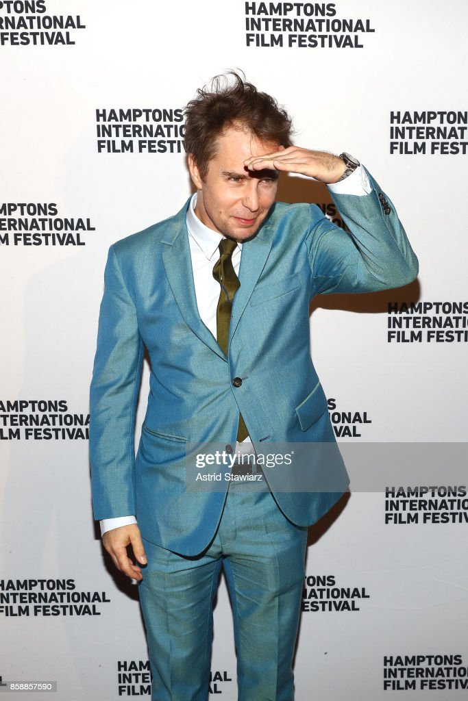 Sam Rockwell attends the photo call for 'Three Billboards' during Hamptons International Film Festival 2017 - Day Three on October 7, 2017 in East Hampton, New York.