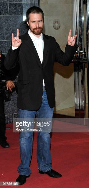 Sam Rockwell attends the premiere of 'The Road' at the 42nd Sitges Film Festivall on October 11, 2009 in Barcelona, Spain.