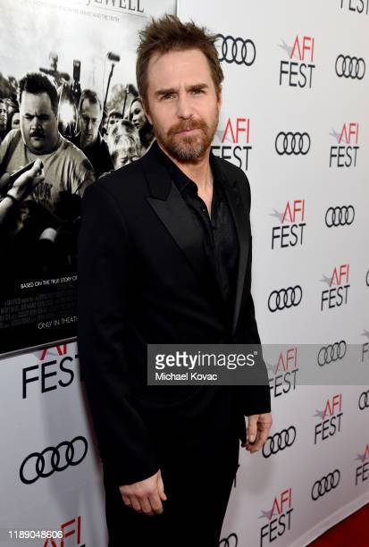 Sam Rockwell attends the Richard Jewell premiere during AFI FEST 2019 Presented By Audi at TCL Chinese Theatre on November 20 2019 in Hollywood...